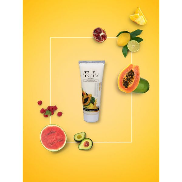 Natural Face Mask - Fruit Mocktail with Sweet Almond Oil