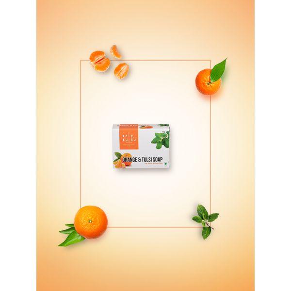 Premium Orange and Tulsi Soap